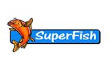 Koi and Pond Supplies superfish-logo
